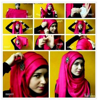 Aneka Tutorial Hijab Step by Step Bagi Pemula