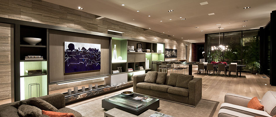 Photo Of Luxury Modern House Interiors As Seen From The Living Room