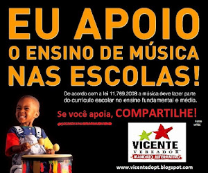 Aula de Músicas nas Escolas