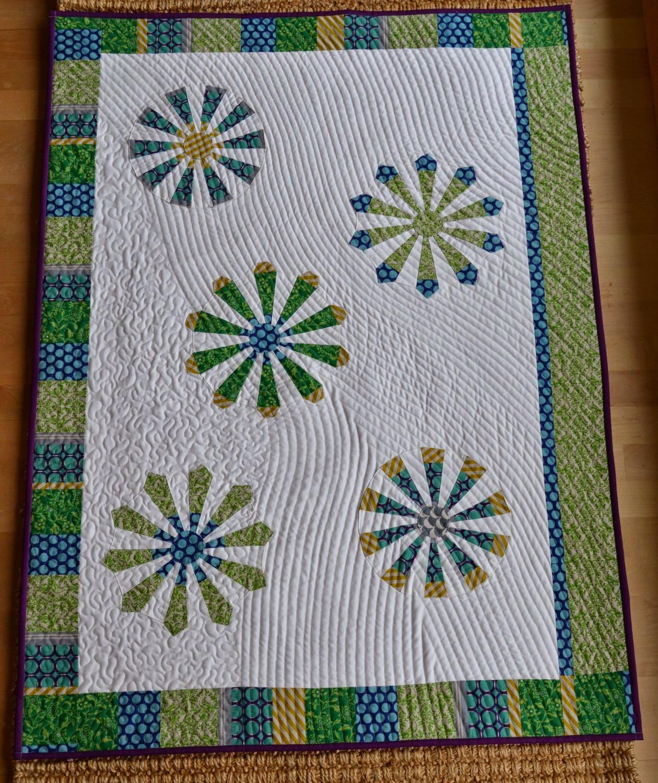 neues von quilt et textilkunst anleitung dresden plate  ~ Bücherregal Quilt Anleitung