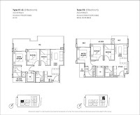 Cambio Suites 3 Bedrooms Floor Plans