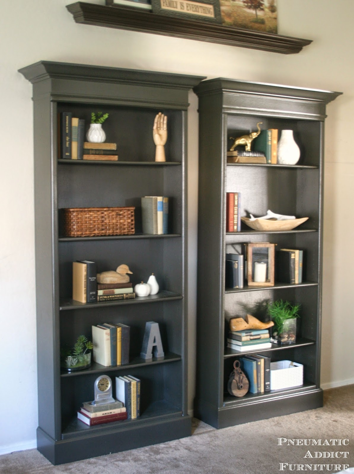 pneumatic addict how to upgrade bookshelves