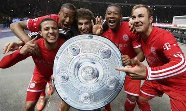 El Bayern campeón de la Bundesliga