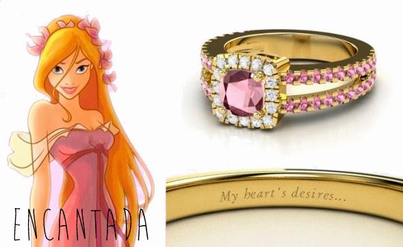 blog Mamãe de Salto aliança inspirada nas princesas da Disney Encantada