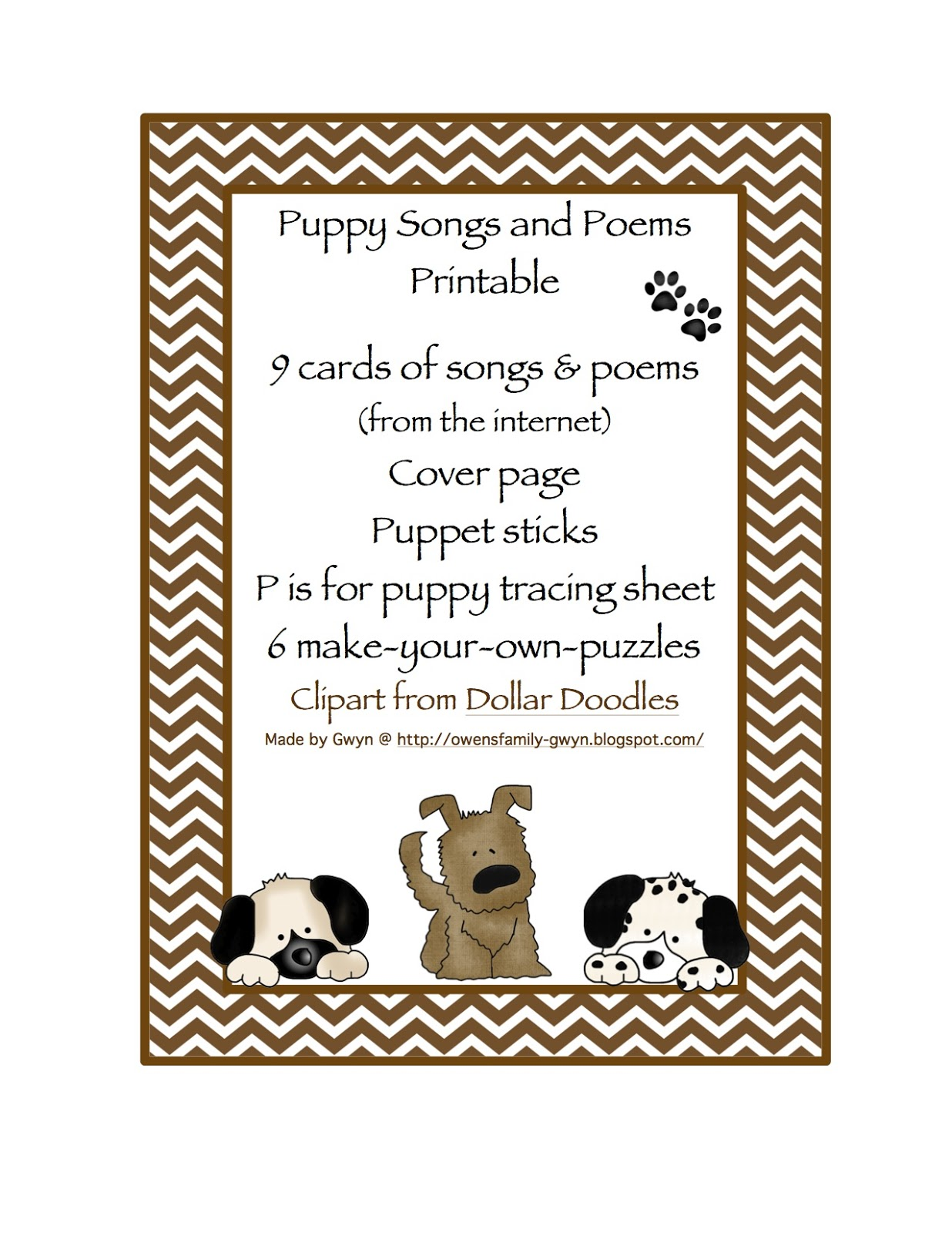 dog songs for preschoolers printable poems with comprehension questions 783