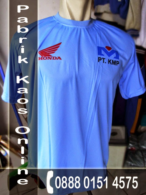 Kaos Oblong, Agen Kaos Sablon,  Distributor Seragam Futsal