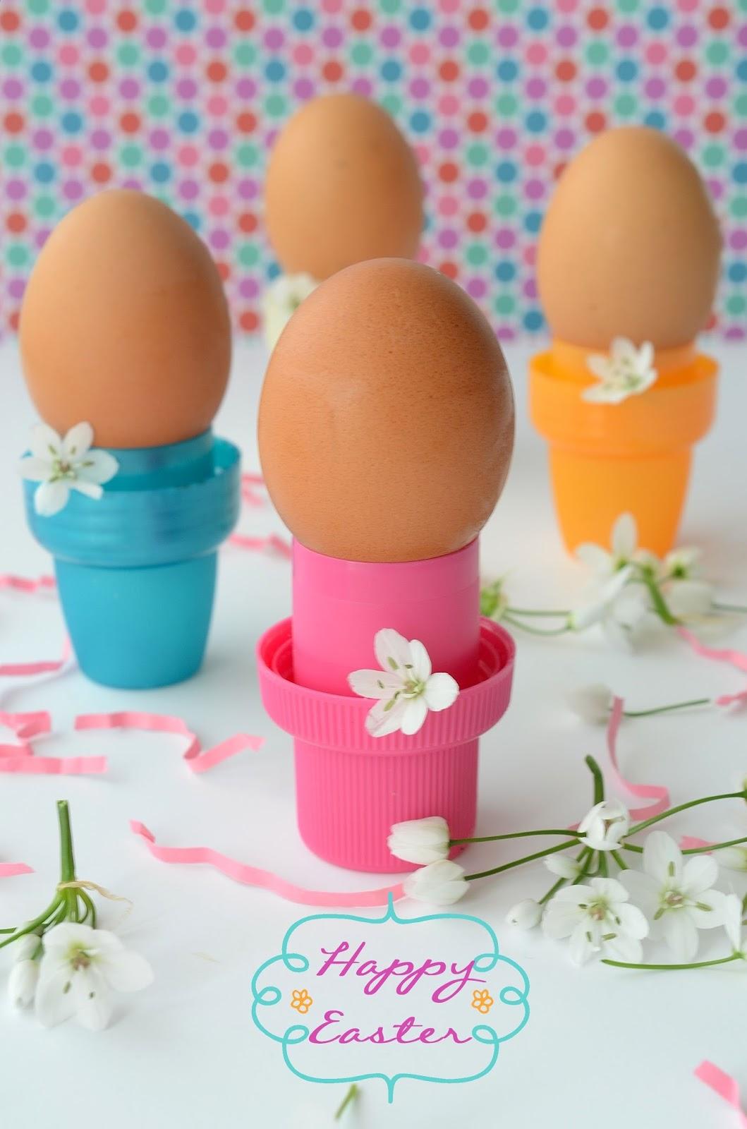 Linfa creativa portauova per la nostra tavola di pasqua for Porta uova