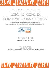 LARI IN MARCIA CONTRO LA FAME 2014