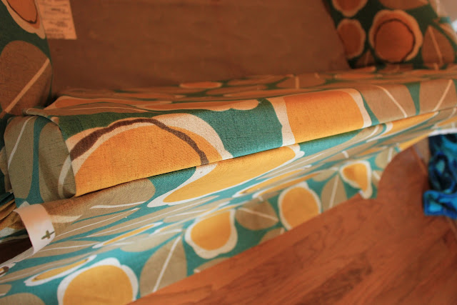 diy couch re-upholster