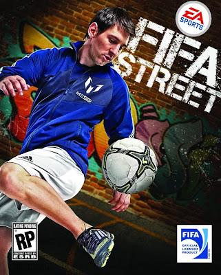 Lionel Messi será la imagen del FIFA Street 12