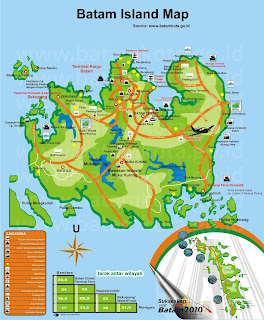 Batam Island Map