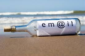 Ariel email in a bottle