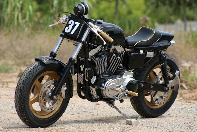 Cafe Racer Culture HarleydavidsonSportsterjpsHotDre-1