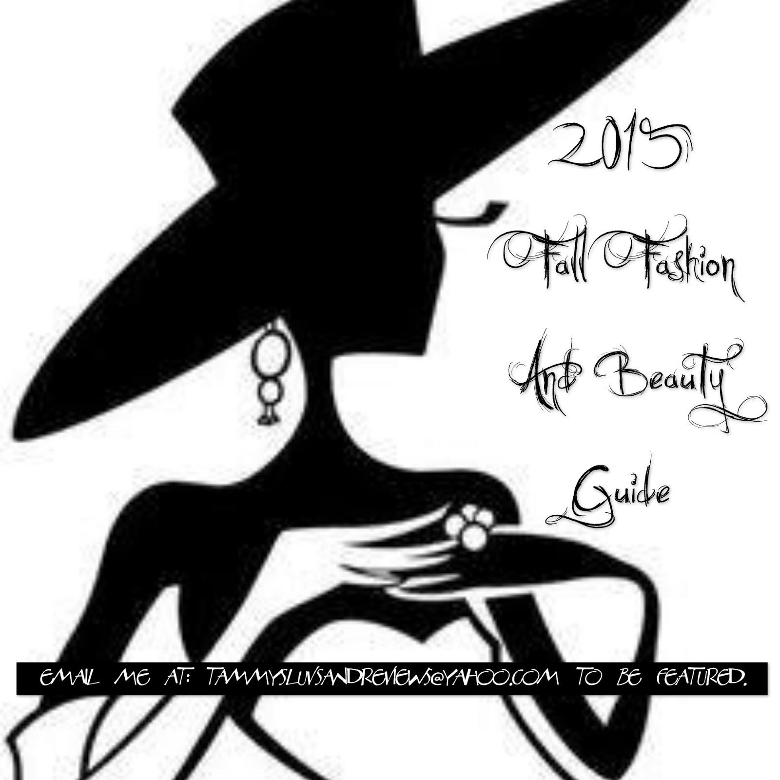 2015 Fall Fashion And Beauty Guide