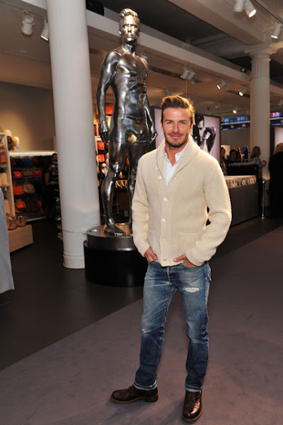 David Beckham Get the Look