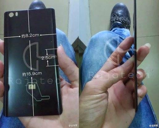 Lộ smartphone mới của Xiaomi