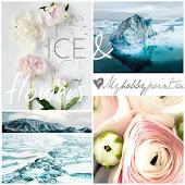 """Доска вдохновения """"Ice&Flowers"""""""