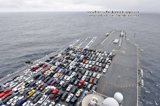 Worlds Biggest Parking Lot Under Sea