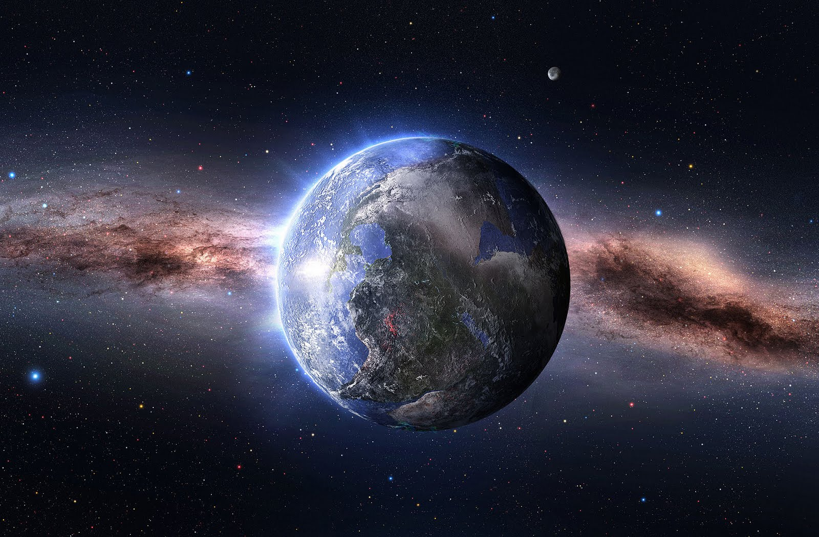 FOTOFRONTERA: Wallpaper de nuestro planeta - Our planet wallpaper