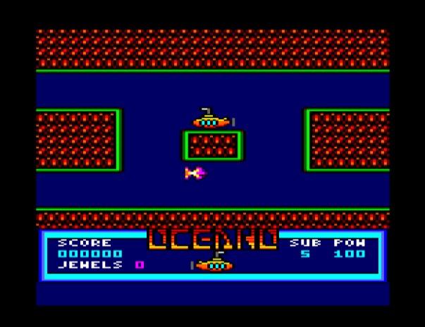 Oceano, nuevo juego para Amstrad CPC