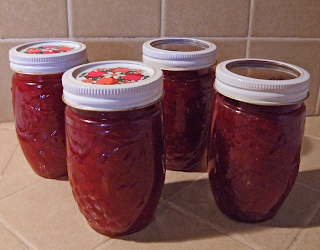 4 jars of jam