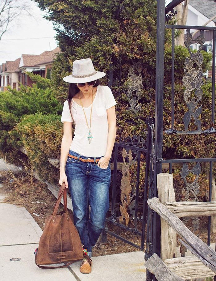 Boyfriend-jeans-fedora-casual-friday