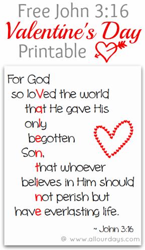 Exceptional image in scripture valentine printable