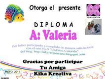 RETO N° 9-Propuesto por kika-kreativarte.blogspot.com