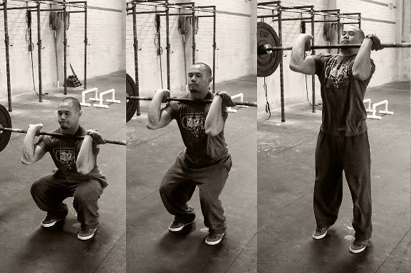 Crossfit Workout Thruster