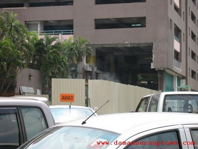 Damansara Uptown Multistorey Carpark renovation 1