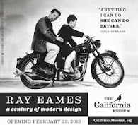RAY EAMES AT CALIFORNIA MUSEUM