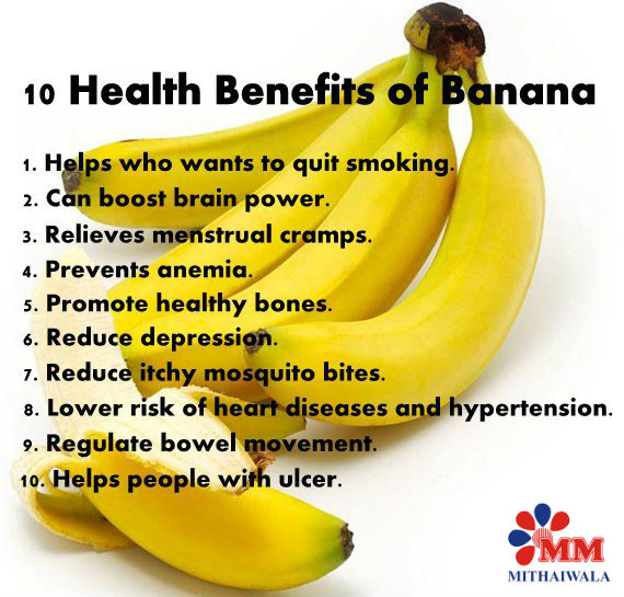 what are the benefits of bananas