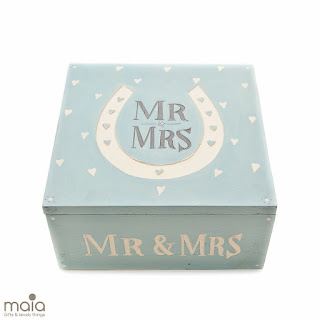 Keepsake Wooden Weddign Box from Maia Gifts