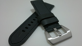 WATERPROOF LEATHER STRAP 24mm