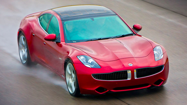 Luxury hybrid electric car maker Fisker Automotive raises an extra