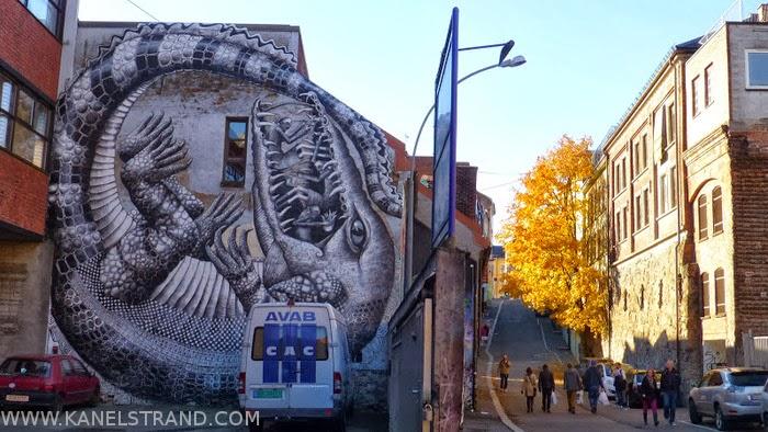 More Street Art in Oslo