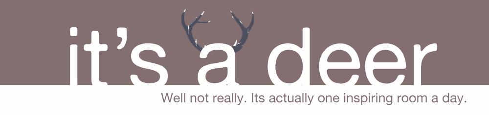 It's a Deer