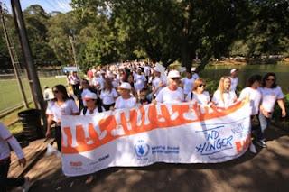 crianças, Walk The World, WFP , Programa Mundial de Alimentos