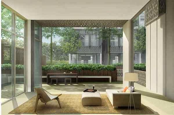Seven Crescent Living Room
