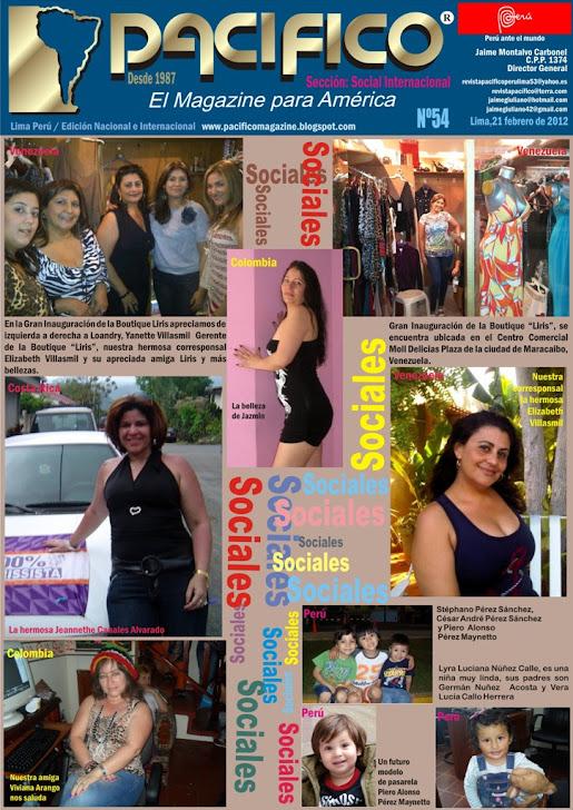 Revista Pacífico Nº 54 Social Internacional