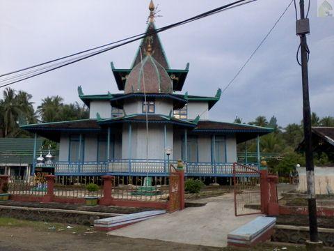 Masjid Su'ada atau Masjid Baangkat di Wasah Hilir Kalimantan Selatan