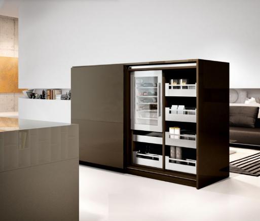 Una cocina como para olvidarse de ella cocinas con estilo - Muebles para vinotecas ...