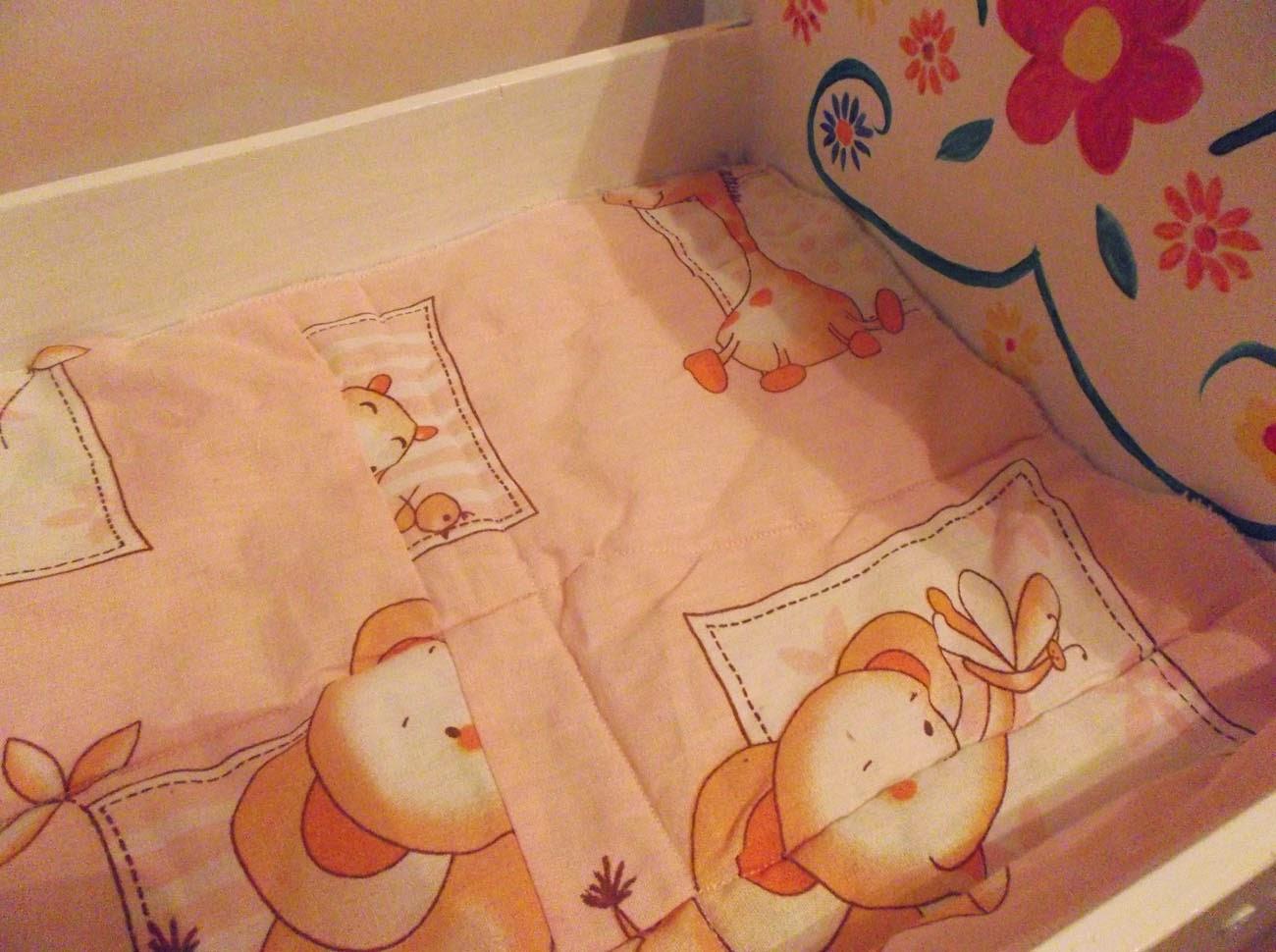 Как сшить постельное белье для новорожденных