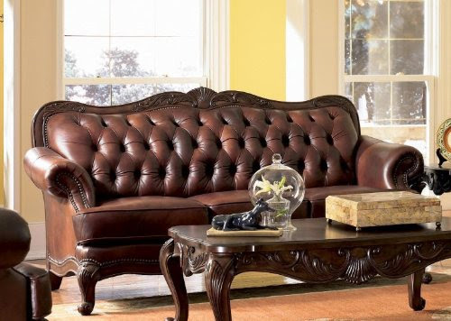 Antique Victorian Sofa Couch (8 Image)