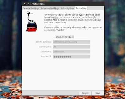 tv-maxe 0.10 Ubuntu