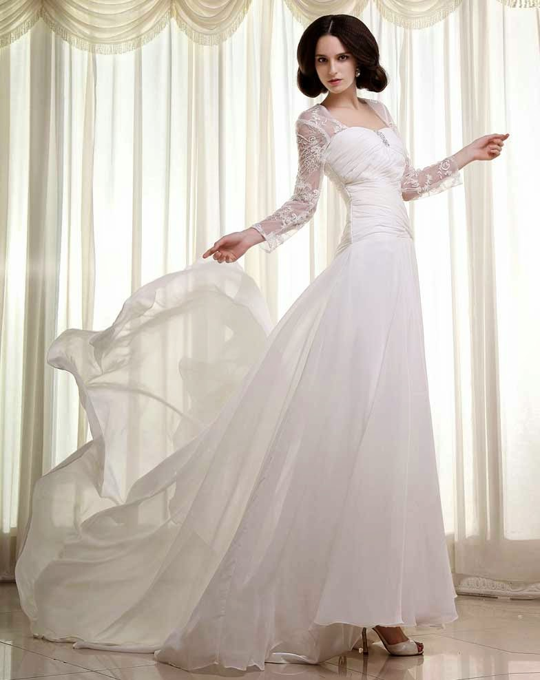 Designer Wedding Dresses With Sleeves Photos HD Concepts Ideas