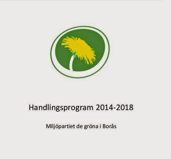 Grön politik för ett grönare Borås