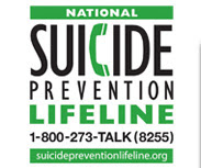 If you are suicidal or know someone that is, please call the National Suicide Prevention Line
