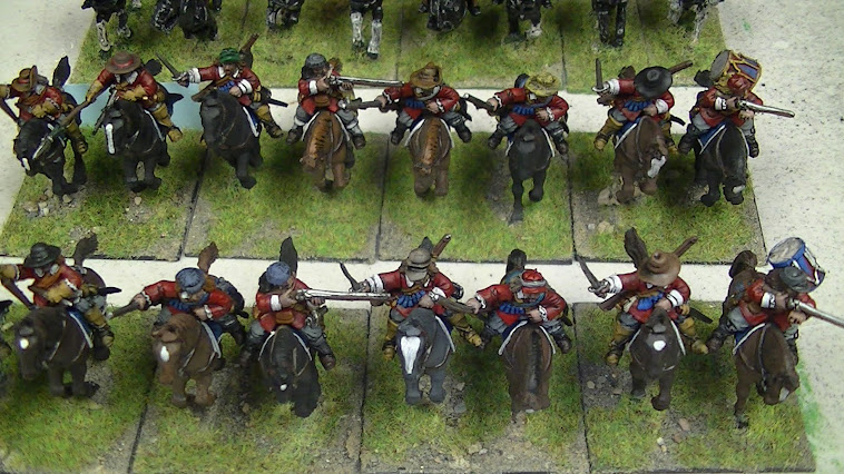 Engish civi war cavalry