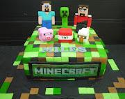 Miles's Minecraft cake